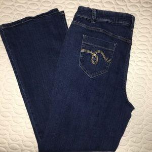 Smith Size 16 Wide Leg Stretch Jeans